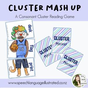 Cluster Mash Up Card Game