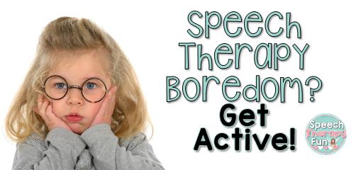 Bored in Speech?  Get Active!