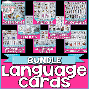 Speech Therapy Fun: Flash Card Bundle