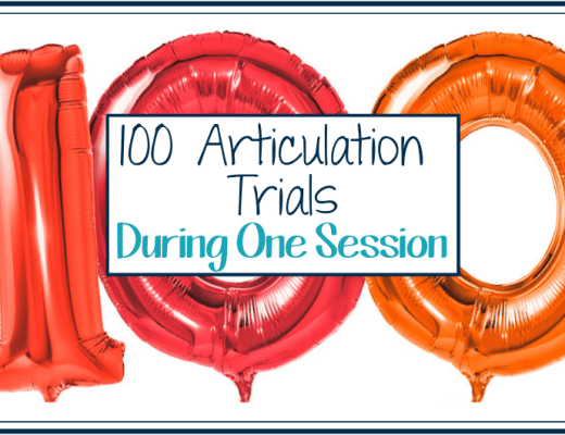 100 articulation trials