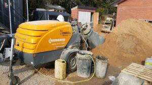 Traditional Fibre Screed M760 Putmeister Screed Pump Screed Floor Construction