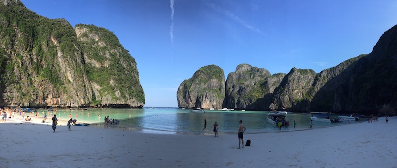 The Beach – bekannt vom Film mit Leonardo di Caprio