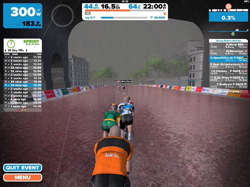 Zwift App Android