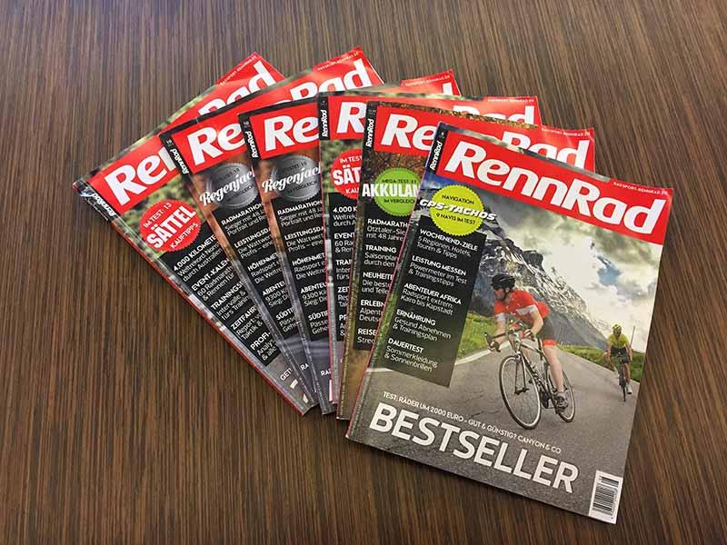 RennRad Zeitschrift Aktion