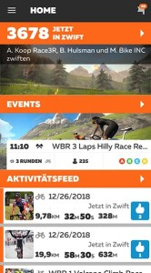 Zwift Events