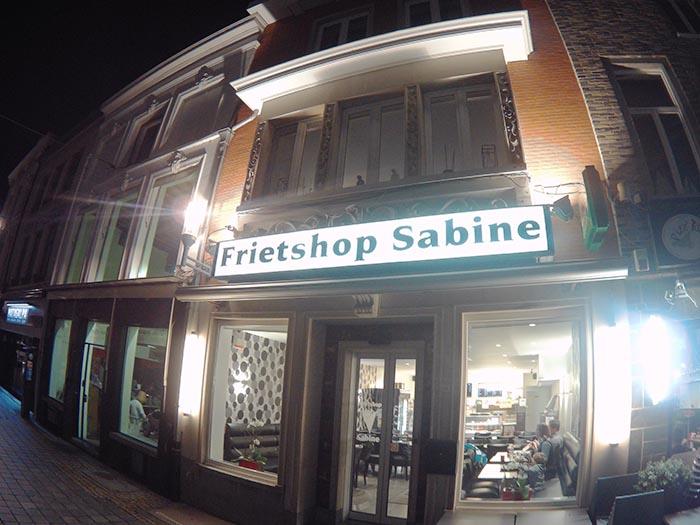 Fritten in Belgien