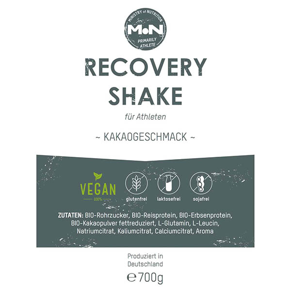 Recovery Shake – Ministry of Nutrition