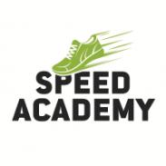 Green shoe logo