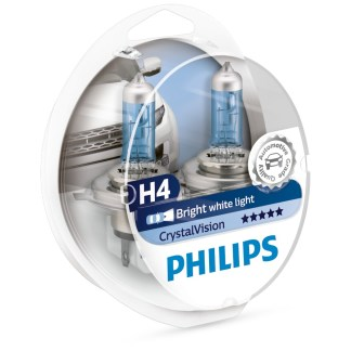 Bombillo Crystal Vision Philips H4 12V
