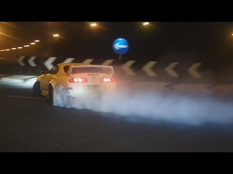 700HP Toyota Supra INSANE Drifting!