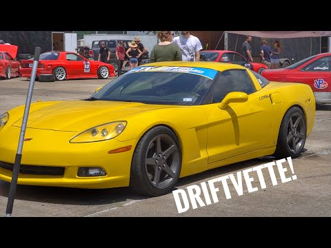 Drift Review | C6 Corvette with Angle and Coilovers