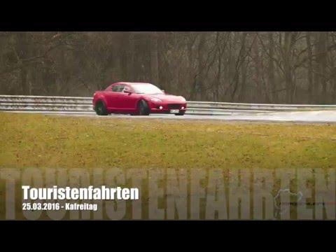 Drifting Nürburgring Nordschleife Touristenfahrten Kafreitag 25.03.2016 – Mazda Rx8