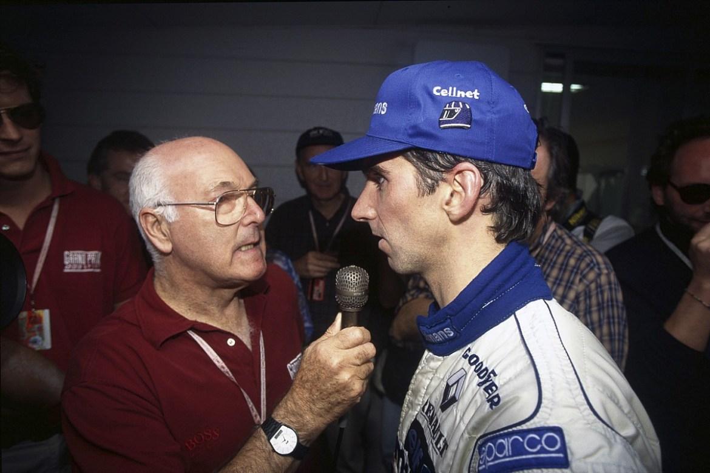 Murray Walker et Damon Hill