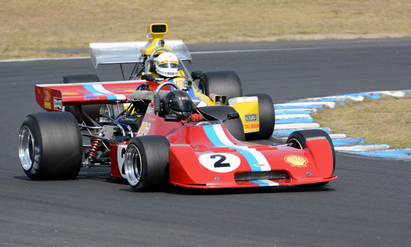The F5000s will headline this year's inaugural Sydney Classic Speed Festival