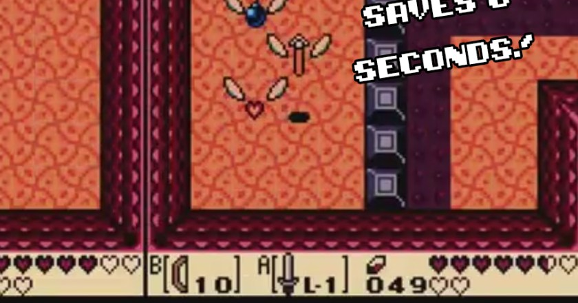 8 Second Time Save in LADX!