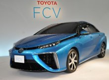Toyota fuel cell car Mirai