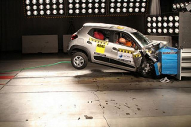 KWID III without airbag Global NCAP