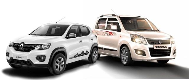 Renault Kwid Vs Maruti Suzuki Wagon R