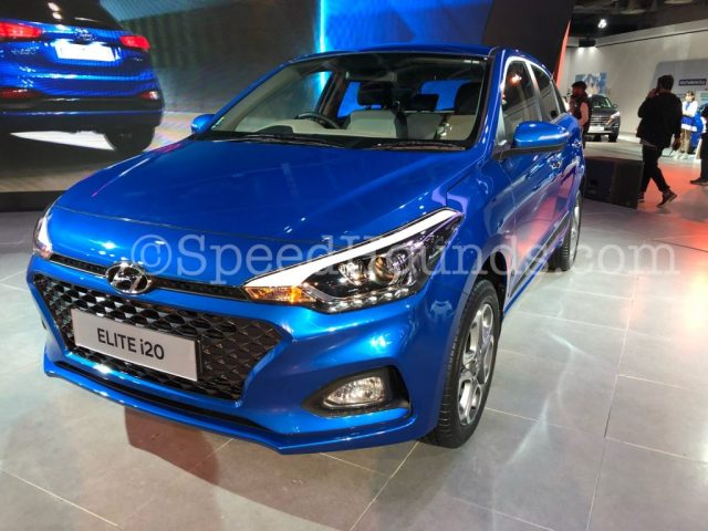 Hyundai 2018 Elite i20 Facelift