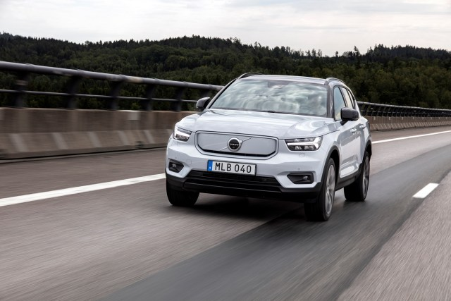 Volvo cars electrification - XC40 Recharge