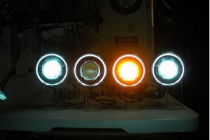 Xenon en LED ombouw