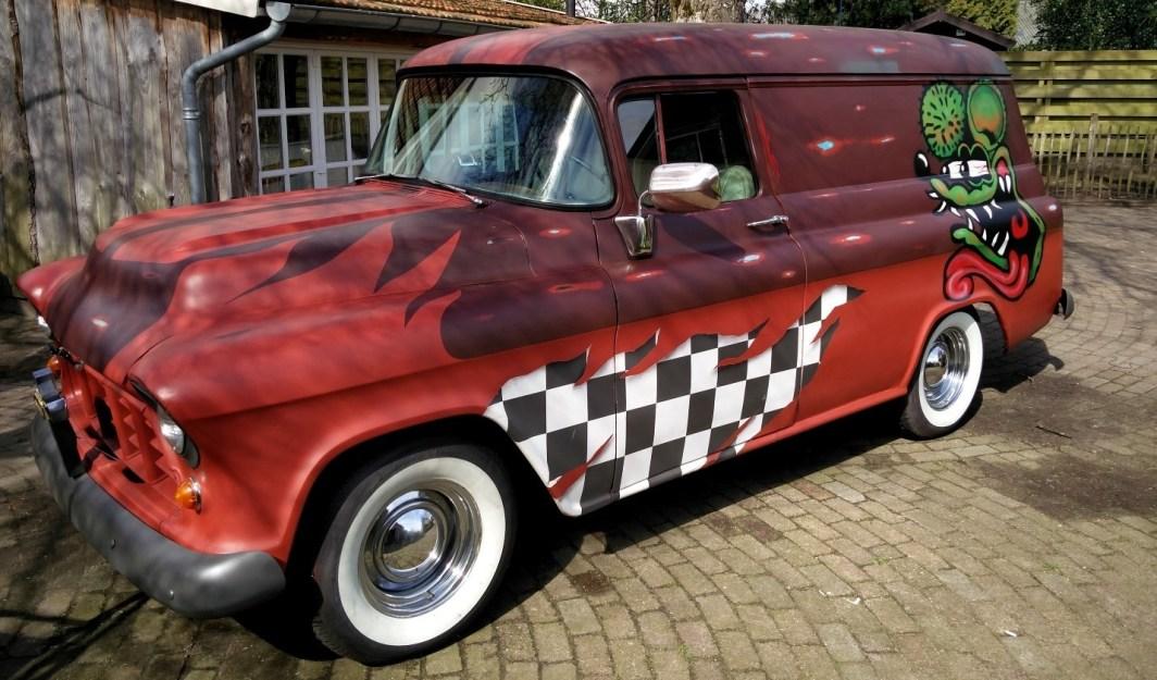 1956 Chevy Panelvan