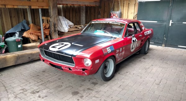 1967 Mustang Trans Am series road race car