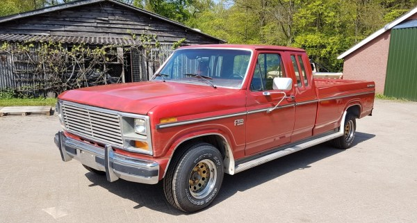 1985 Ford F150 extended cab - 302ci - slide