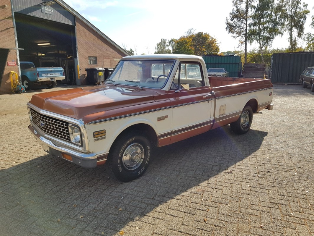 1972 Chevrolet C10 Pickup With Factory Super Cheyenne Package 1983 Chevy Truck