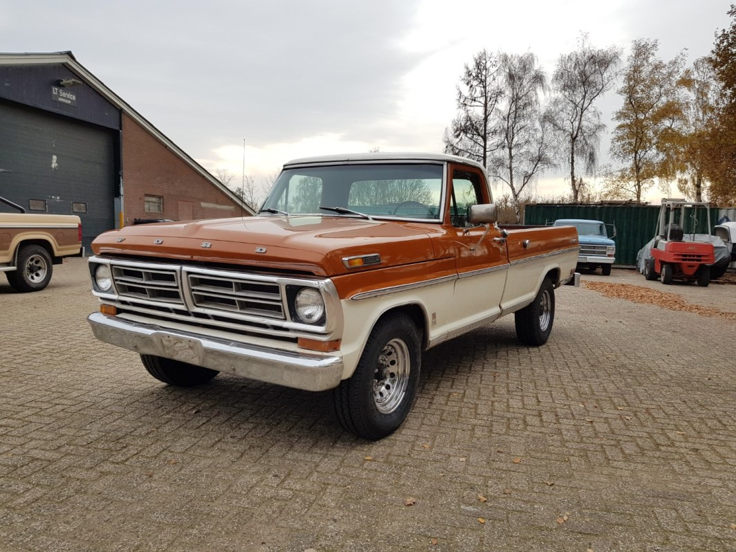 1969 Ford F250 with 390ci V8 and C6 automatic (6.4L)