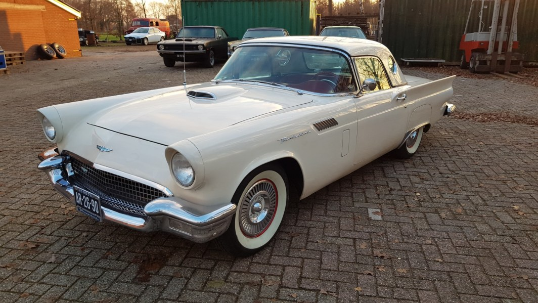 1957 Ford Thunderbird Convertible 312ci