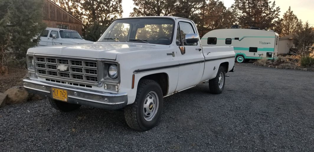 1977 Chevrolet C20 350ci V8 and Automatic
