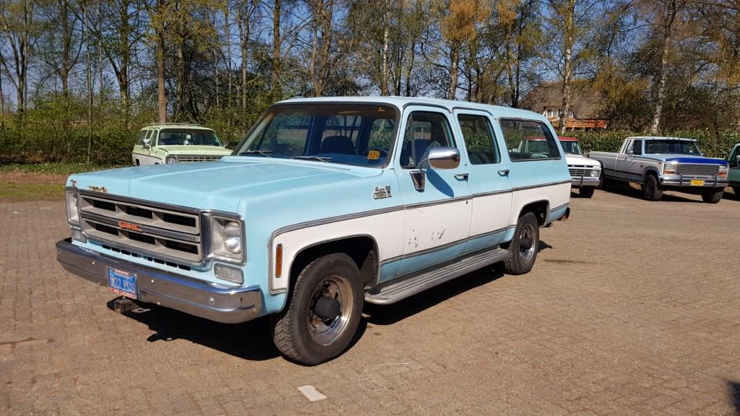 1976 GMC 25 Sierra Classic Suburban 454ci V8