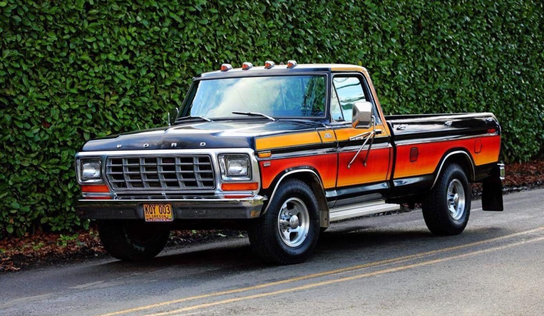 1979 Ford F250 with 460ci V8 and automatic (001)