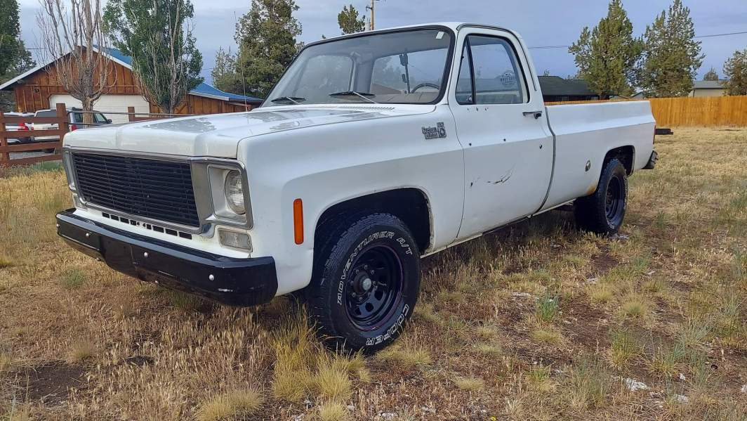 1976 Chevrolet C20 Custom Deluxe 350ci V8 (8)