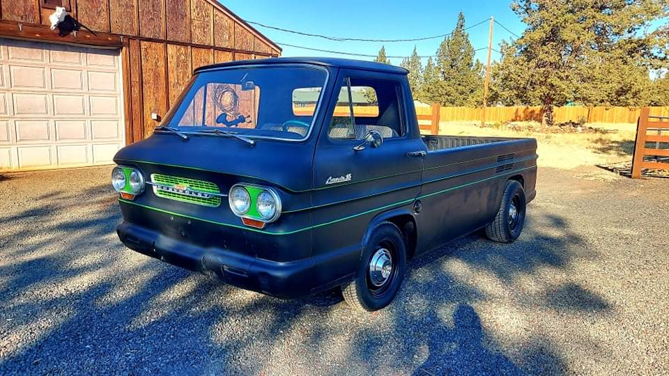 1961 Chevrolet Corvair Rampside truck with 454ci V8 (001)