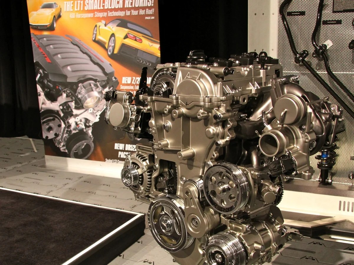 Sema Gm Debuts 2 0l Turbo 4 Crate Engine For Rwd
