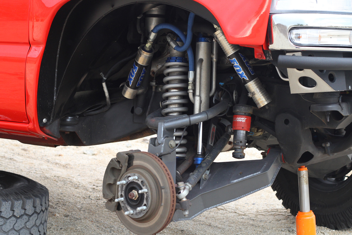 Wheel Independent All Rear Drive Suspension