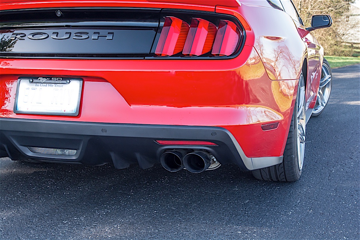 active exhaust on a 2015 mustang