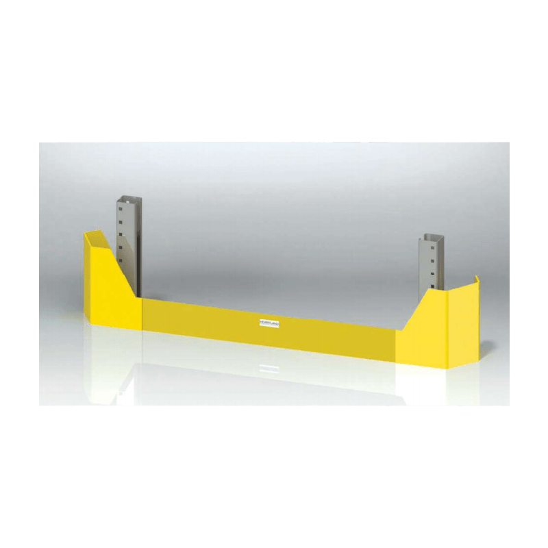 pallet rack guard protection from forklifts