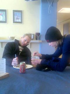 Björn får lunch