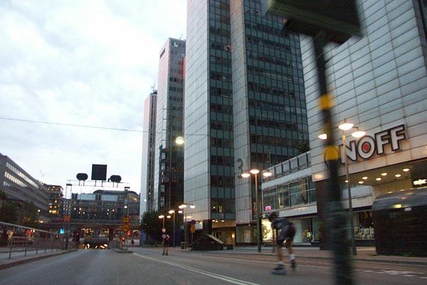 Morningskate 2008-07-28. Foto: Ulf Haase.
