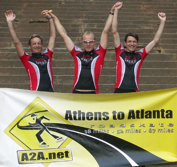 Athens to Atlanta, 5 okt 2008.