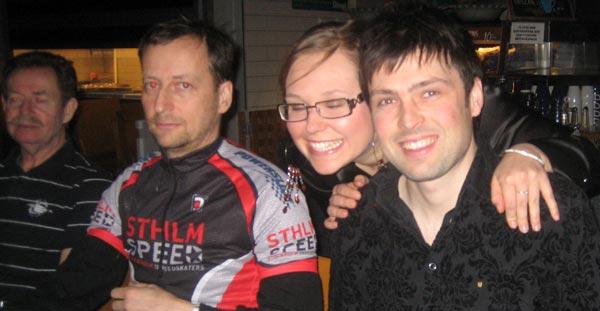 Stockholm Speedskaters bankett 2008-03-14.