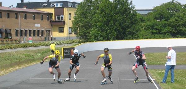Svenska Inlinecupen, deltävling 1, Varberg 2009-06-06. Foto: Thomas Lundqvist.