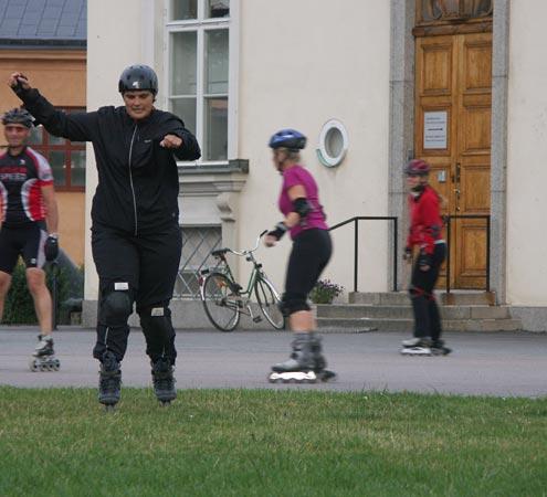 Nybörjarträning_2009-09-08. Foto: Ulf Haase.