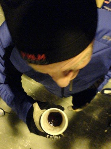 Ö–IP 2009-12-08. Mobilkamerafoto: Ulf Haase.