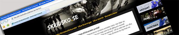 Skridskoförbundets hemsida