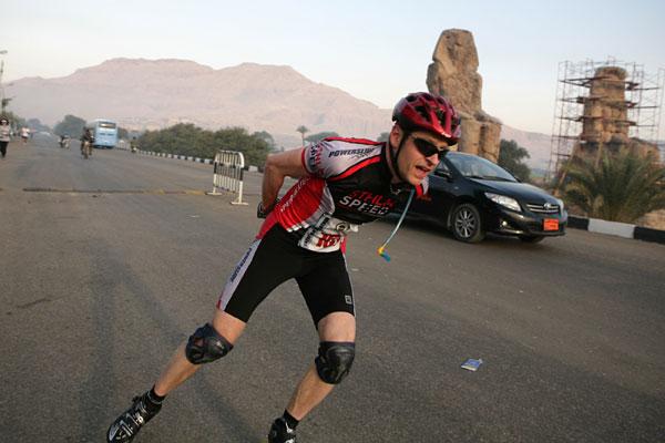 Egyptian Marathon 2010-02-12. Foto: Frank Räcker.