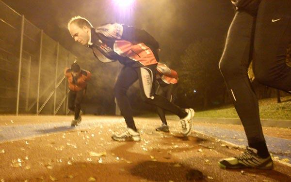 Barmarksträning Ö–IP 2011-10-25. Mobilkamerafoto: Ulf Haase.